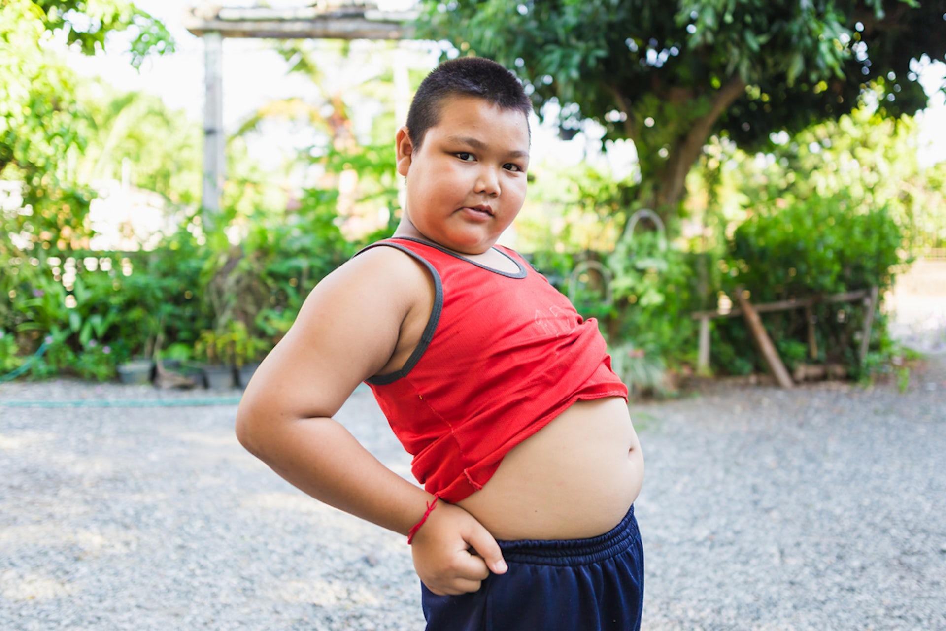 Overweight black kids