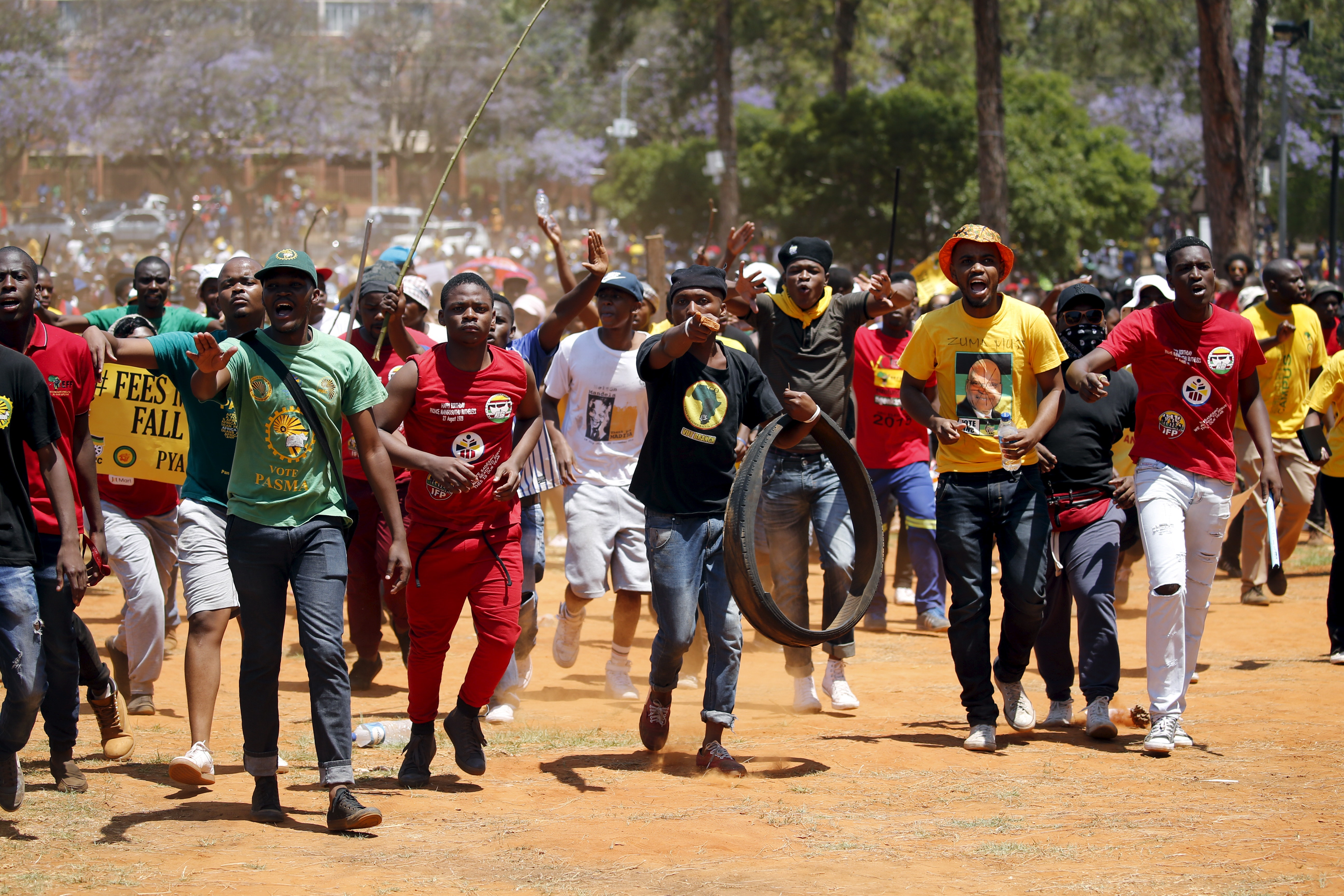 Pictures of strikes in south africa South Africa profile - Timeline - BBC News