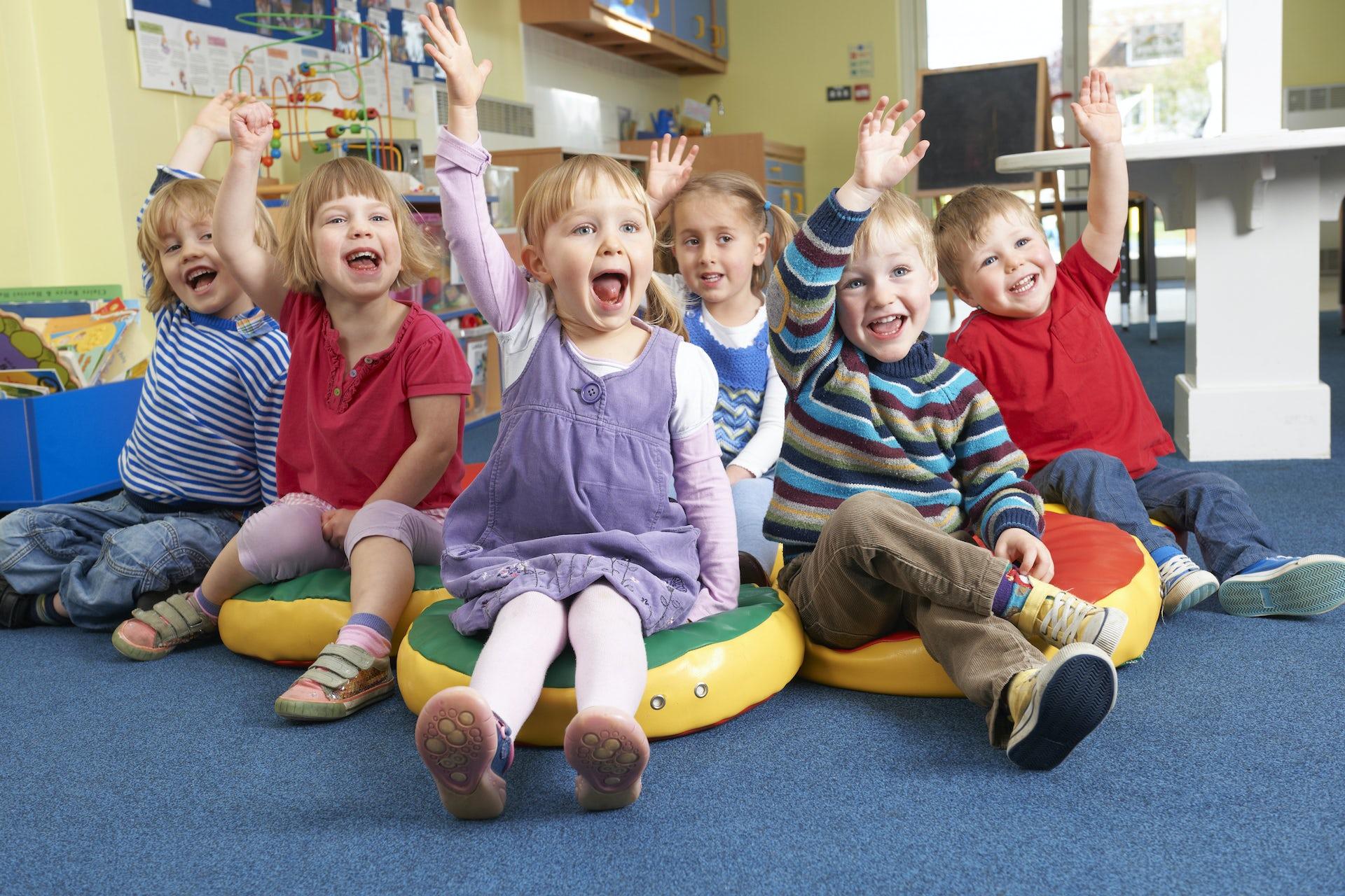 Дети детском саду фото