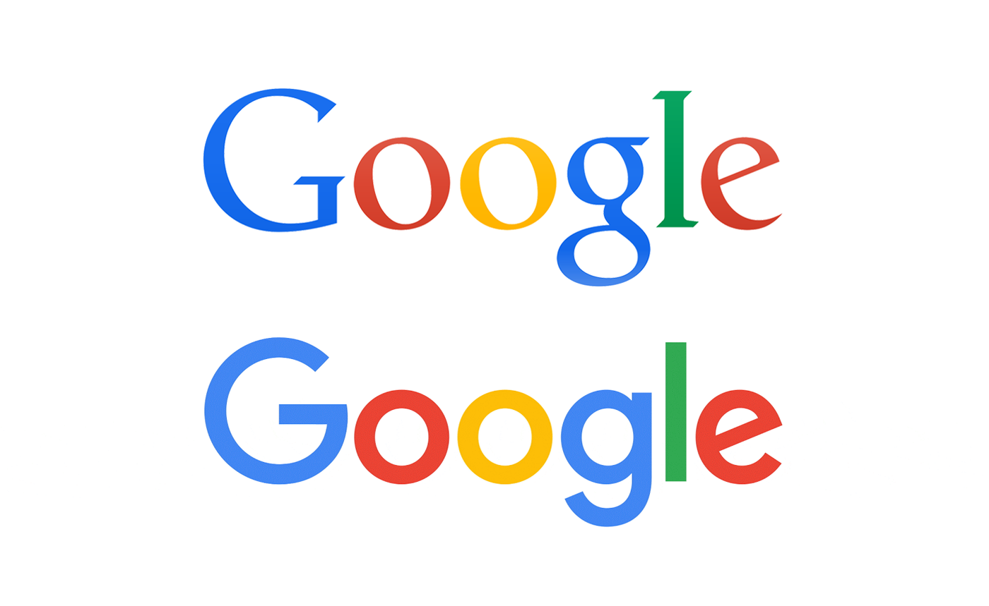 New Google logo design finds harmony in the Golden Ratio