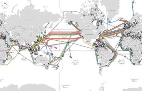 In our Wi-Fi world, the internet still depends on undersea cables