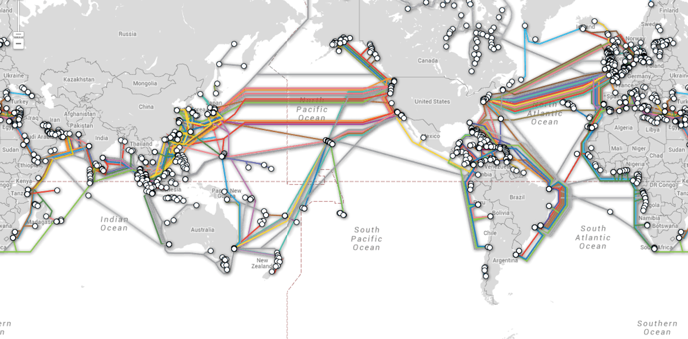 In Our Wi Fi World The Internet Still Depends On Undersea Cables Underground Wiring Code Canada