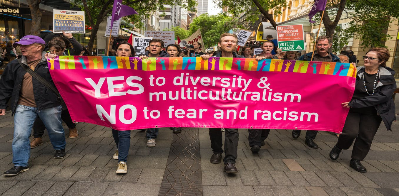 Yes to diversity-no to fear and racism