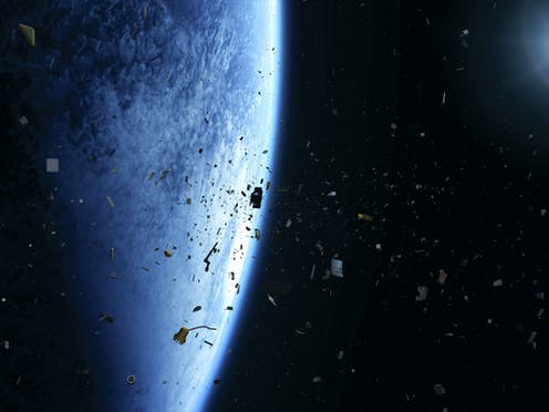 8a05ccdb55 How to clean up space debris – using game theory