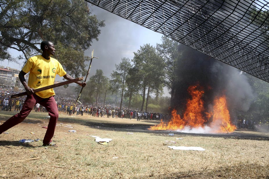 Student protests in South Africa have pitted reform against revolution