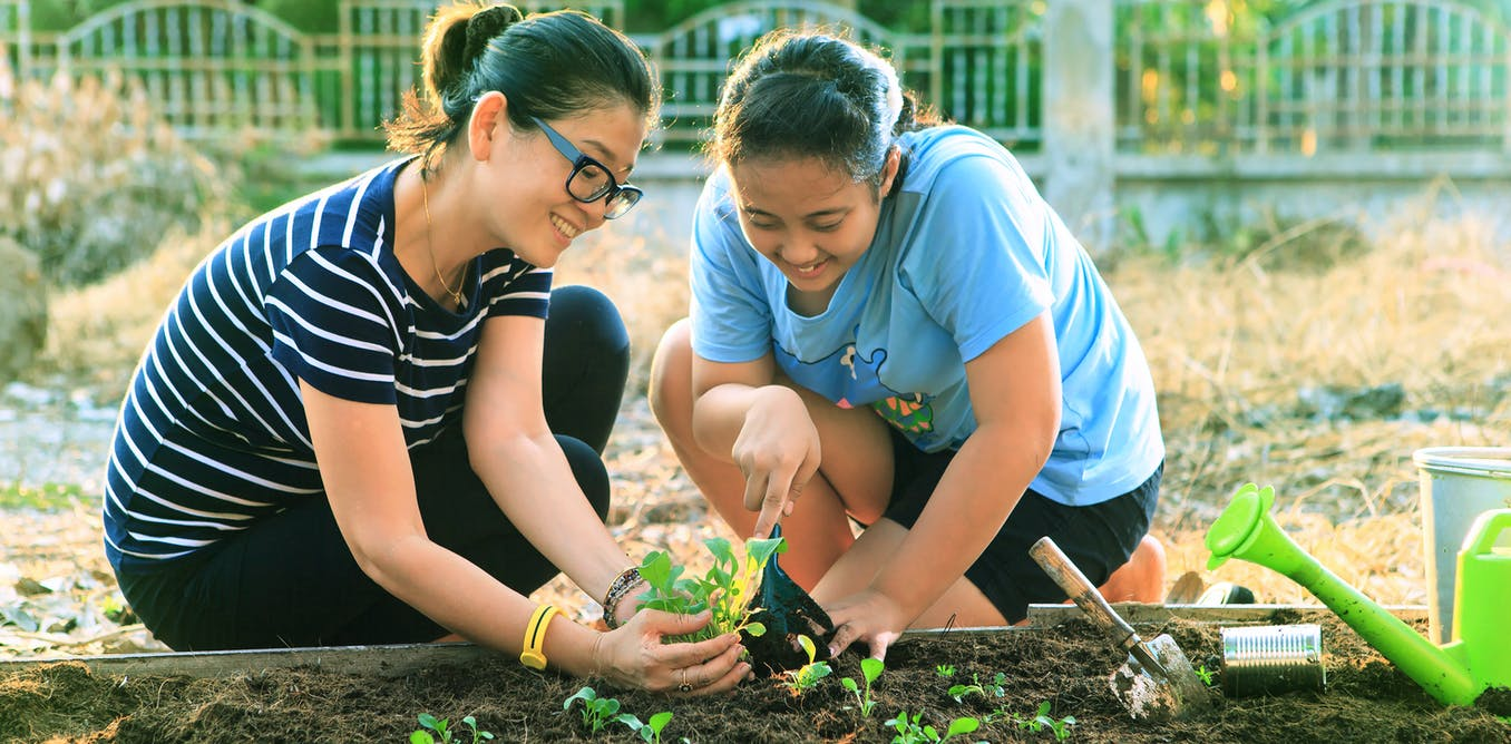 why gardening is good for your mind as well as your body