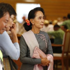 aung san suu kyi news research and analysis the conversation waiting in the wings as parliament sits in its final session after the election aung san suu kyi and her victorious nld face the challenge of huge public