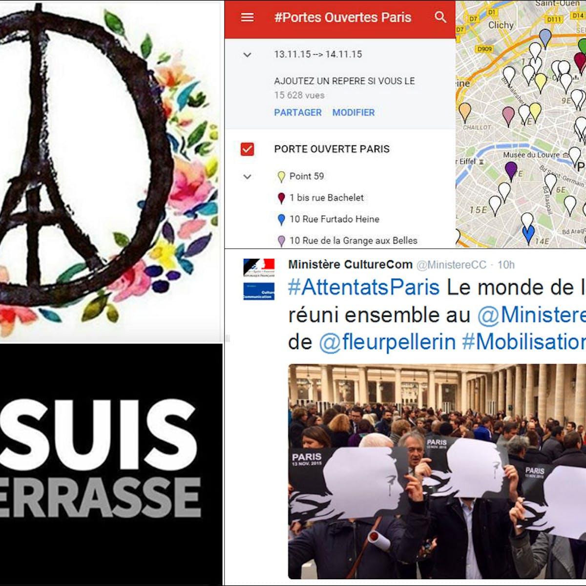 Je Suis En Terrasse how social media shaped our understanding of the paris attacks