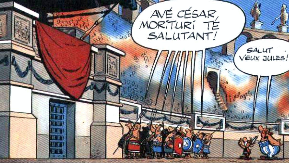 Astérix et le smiley de César