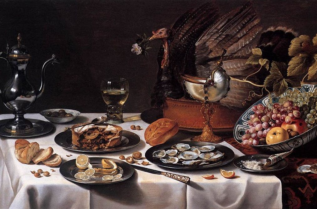 What the first Thanksgiving dinner actually looked like