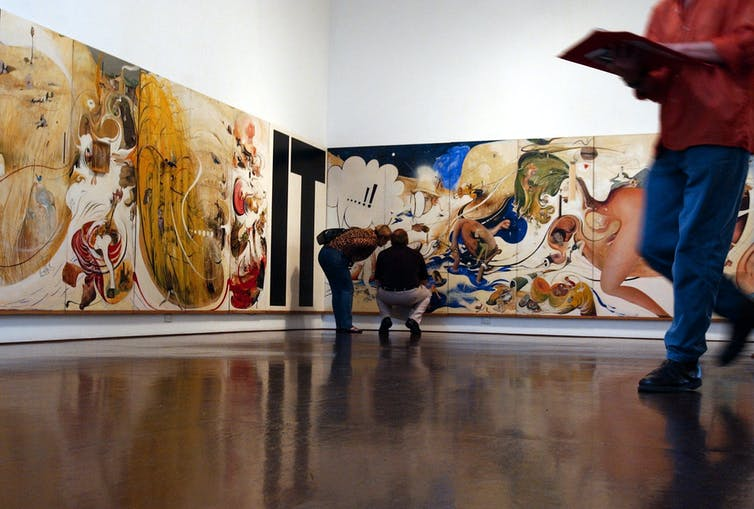 in the studio by brett whiteley essay Brett whiteley - vincent (an essay in  just finished a short article about aussie artists and am kicking myself for never going to brett whiteley's surry hills studio.