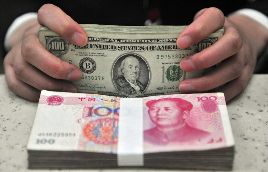 China Wants The Yuan To Gain Same International Standing As Us Dollar Epa Aap