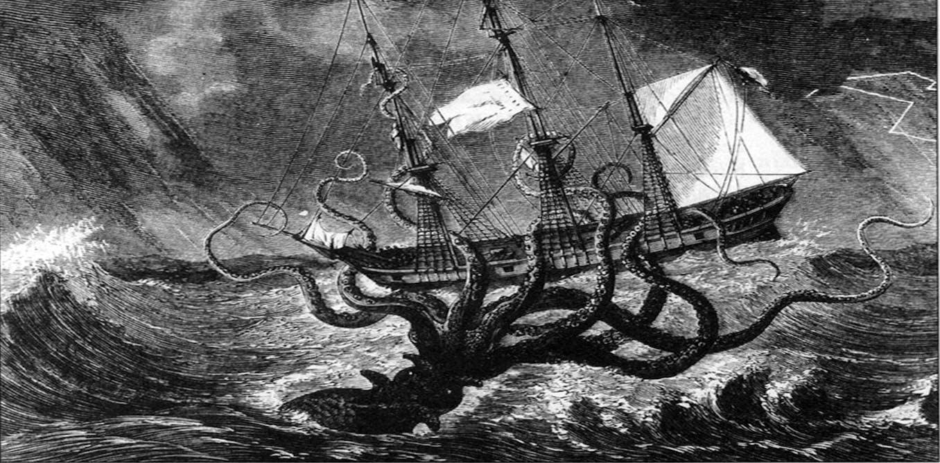 The Real Life Origins Of The Legendary Kraken