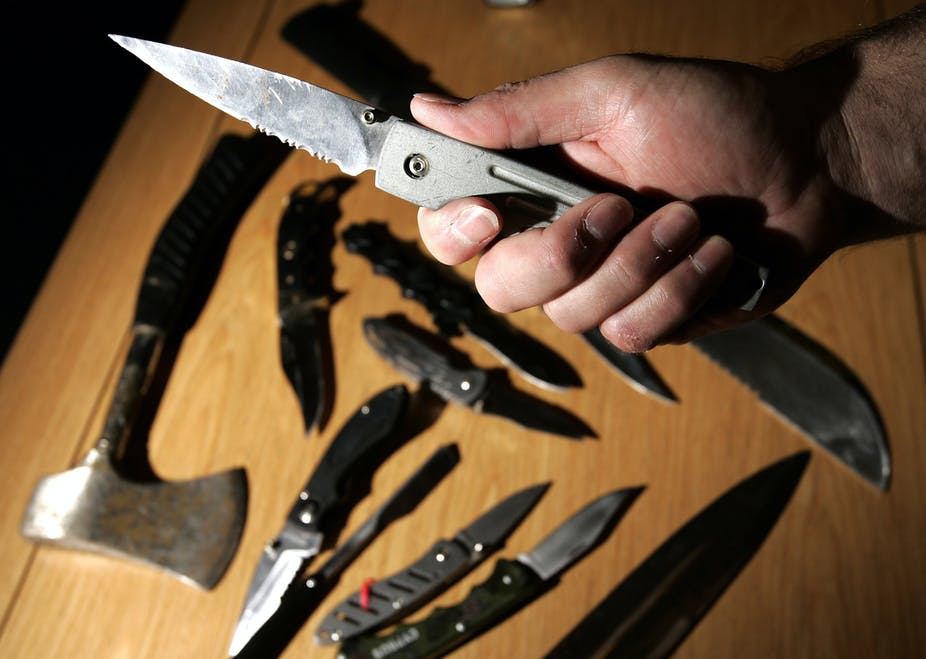 More people are carrying knives – why?