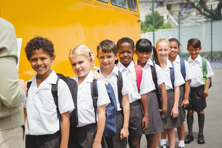 Does Wearing A School Uniform Improve Student Behavior Research Shows Mixed Results Of The Impact Of School Uniforms On Student  Behavior Student Image Via Wwwshutterstockcom Can I Pay Someone To Do A Book Report For Me? also Sample Synthesis Essays  Argumentative Essay Thesis Statement Examples
