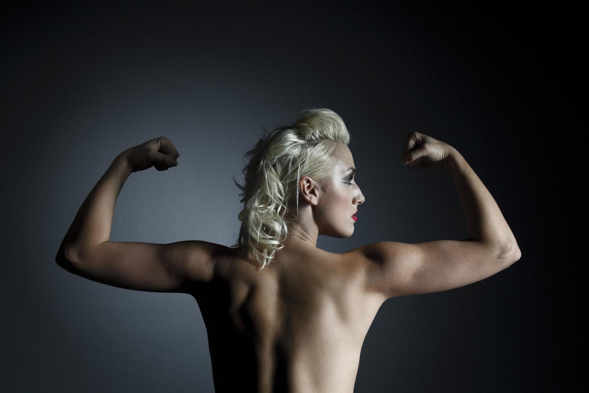 Girl tatto around her butt hole nude