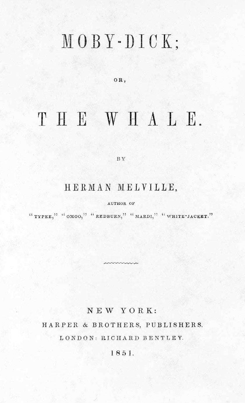 The History Of Moby Dick