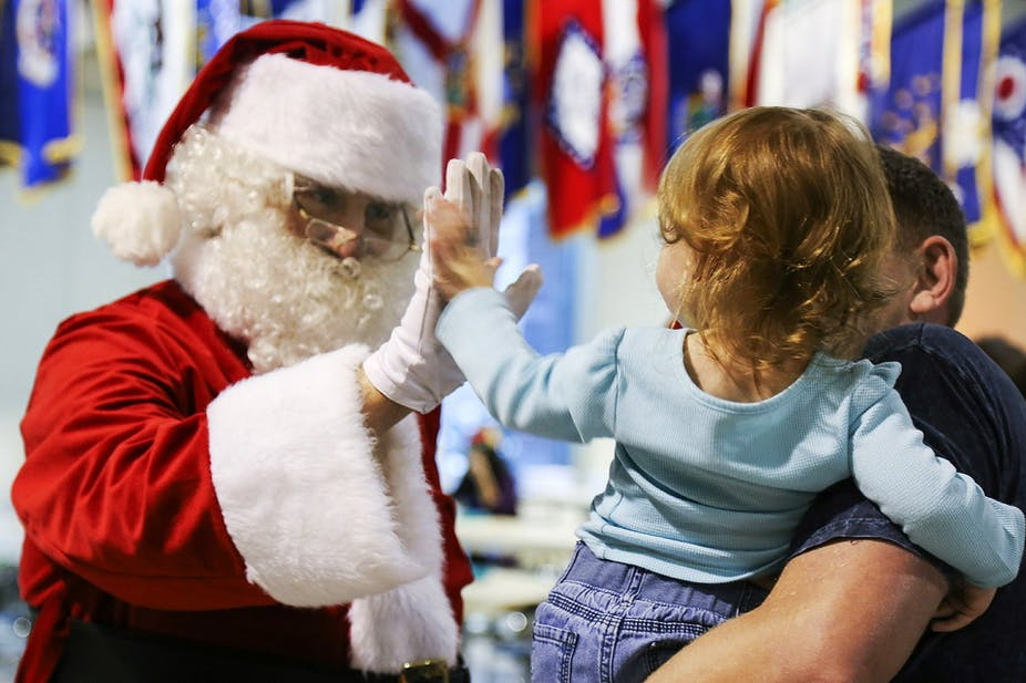 0833e8cc Should you tell your child the truth about Santa? A psychologist's view