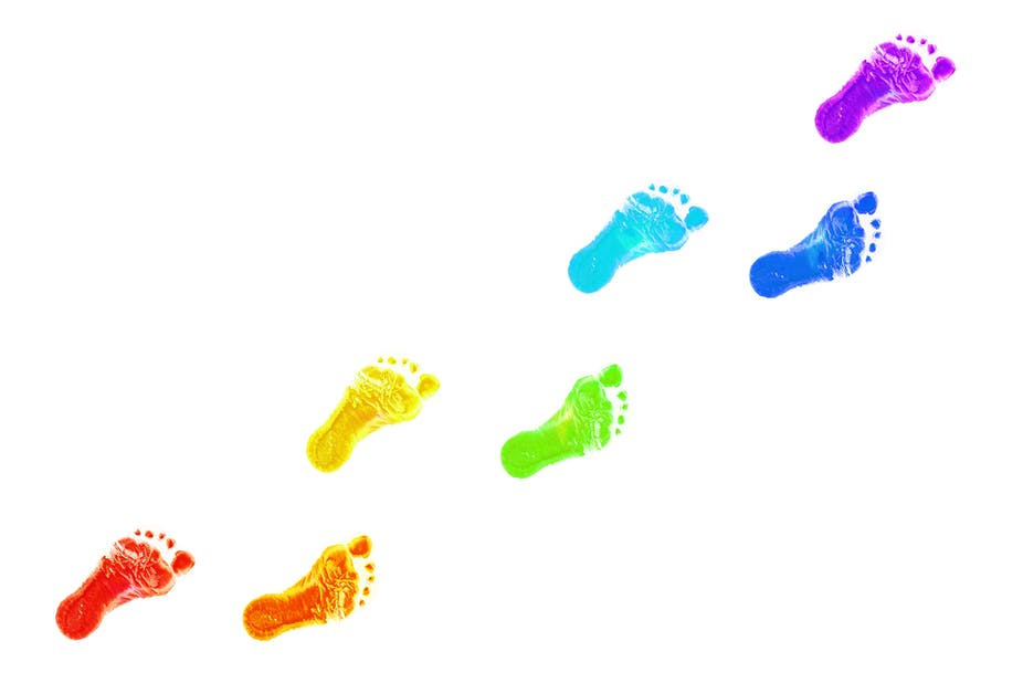 Image result for footprints""