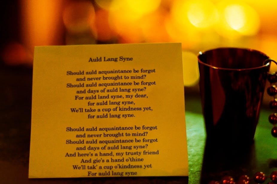Lyric same old lang syne lyrics : How Auld Lang Syne switched tunes en route to world domination