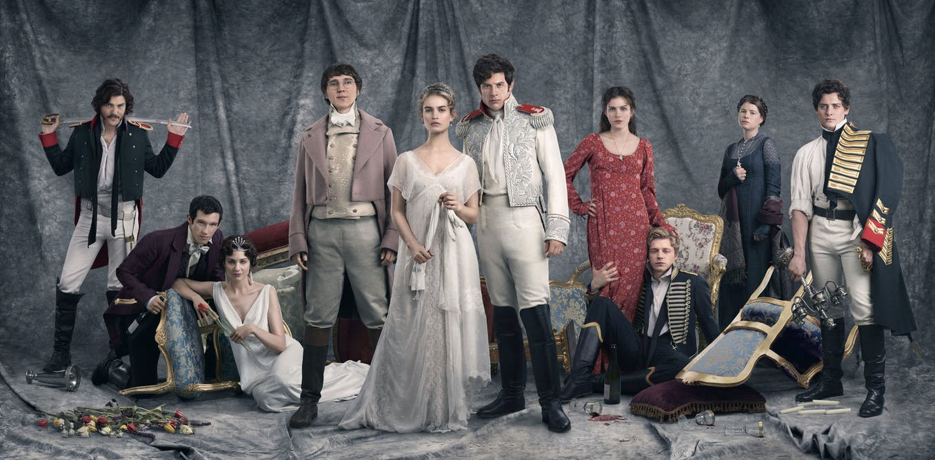 tolstoy made sure war and peace was phwoar and peace long before tolstoy made sure war and peace was phwoar and peace long before the bbc got their hands on it