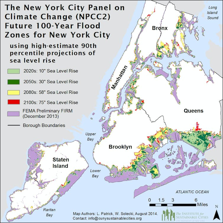 Building climate resilience in cities: lessons from New York