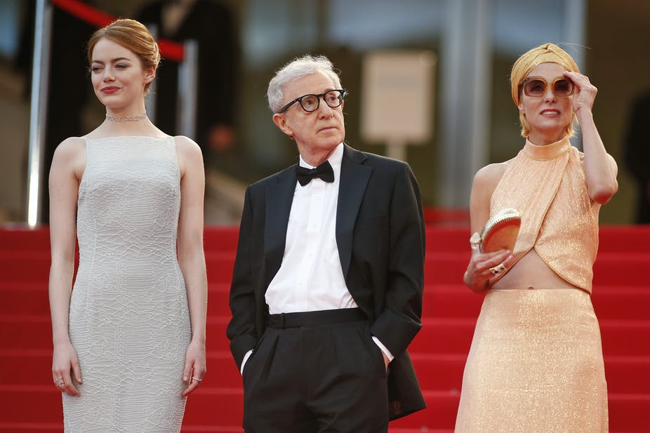 Example Of A Good Thesis Statement For An Essay Is Woody Allen An Irrational Man Maybe Not Woody Allen At The Cannes  Screening Of Irrational Man  With Cast Members Emma Stone And Parker  Posey Example Essay Papers also My First Day Of High School Essay Irrational Man Or A Kantian A Level English Essay