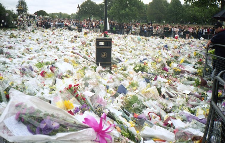 Bowie Diana And Why We Mourn In Public