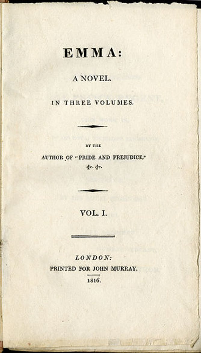 friday essay jane austen s emma at  reading emma