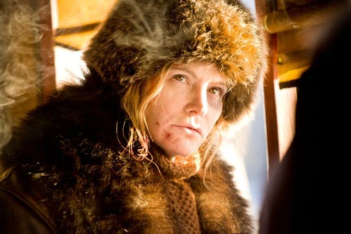 elaborately justified misogyny the hateful eight and daisy domergue