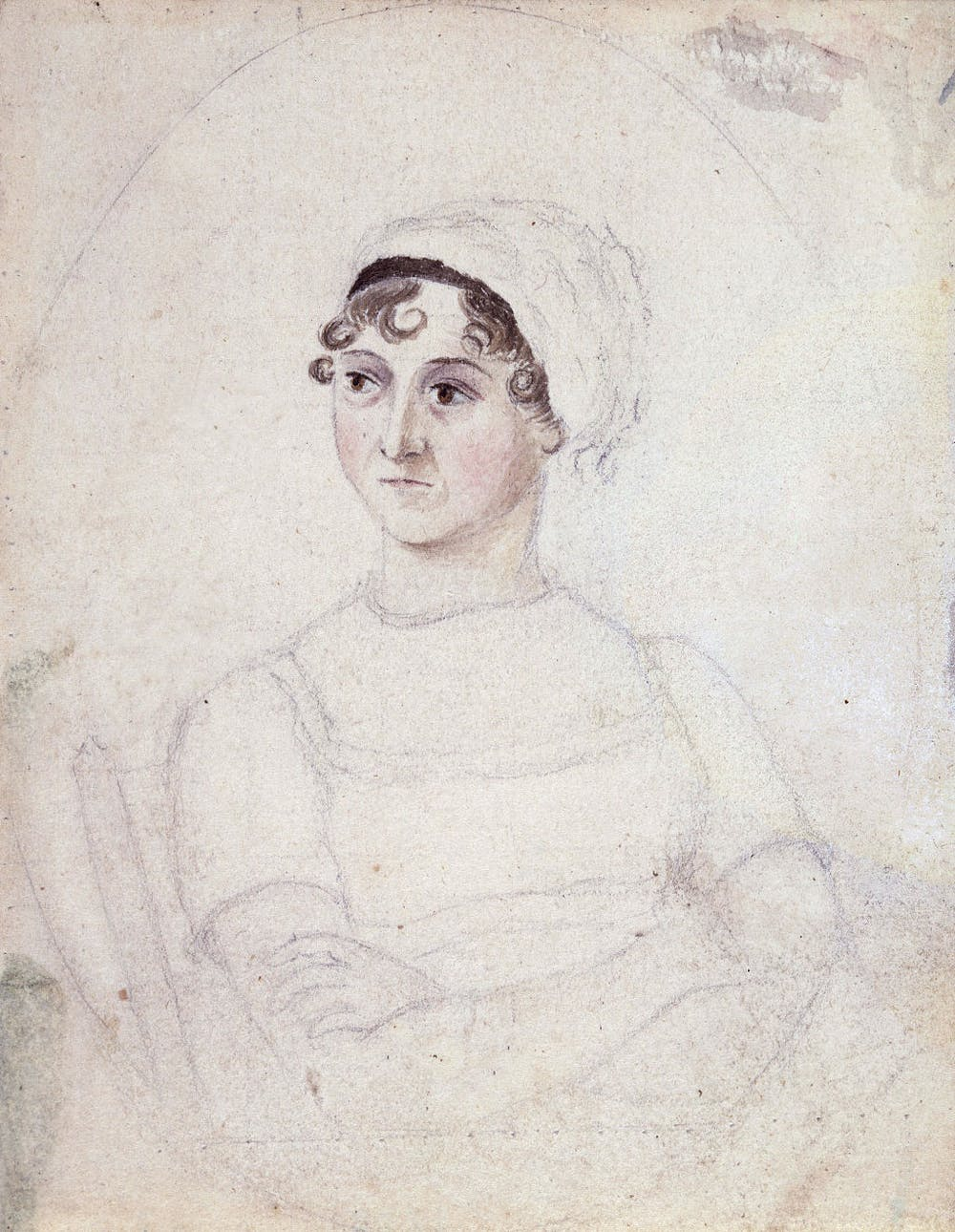 friday essay jane austen s emma at  portrait of jane austen drawn by her sister cassandra c 1810 commons