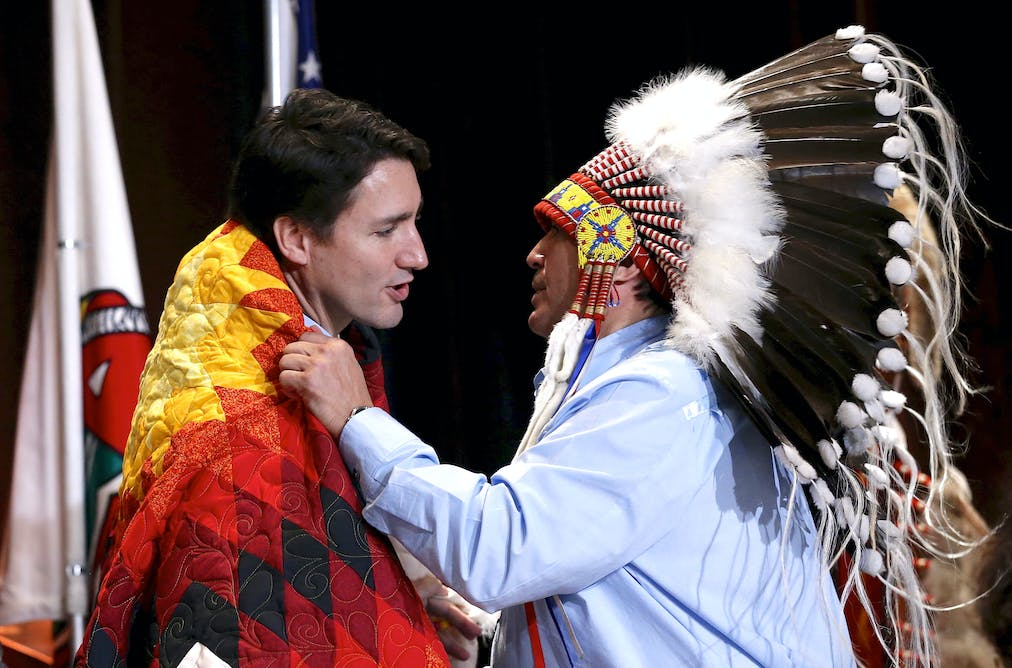 misrepresentation of canadian first nations people In 2011, 637,660 first nations people reported being registered indians, representing 749% of all first nations people, 455% of the total aboriginal population and 19% of the total canadian population.