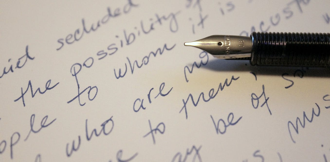 Learning handwriting is more about training the brain than cursive script