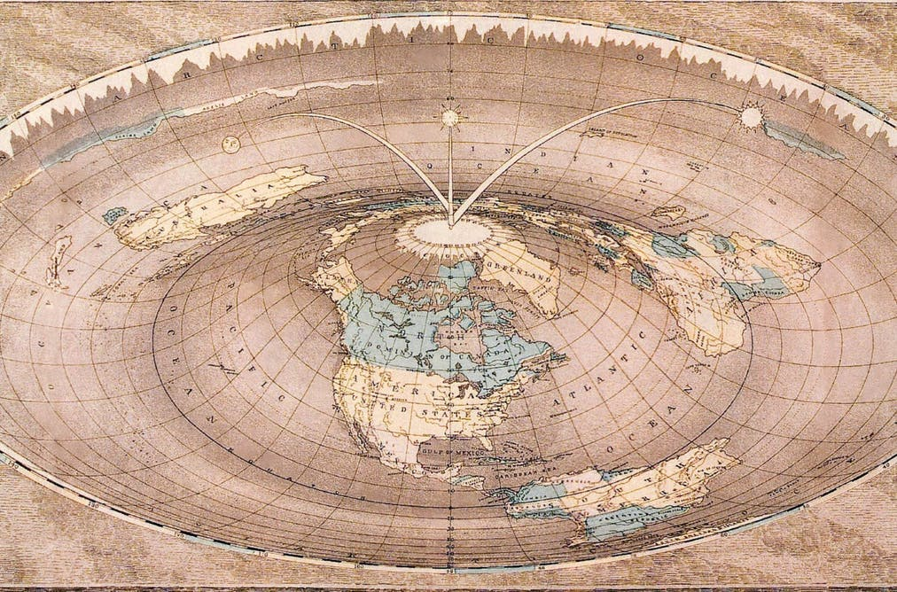 Why would anyone believe the Earth is flat?