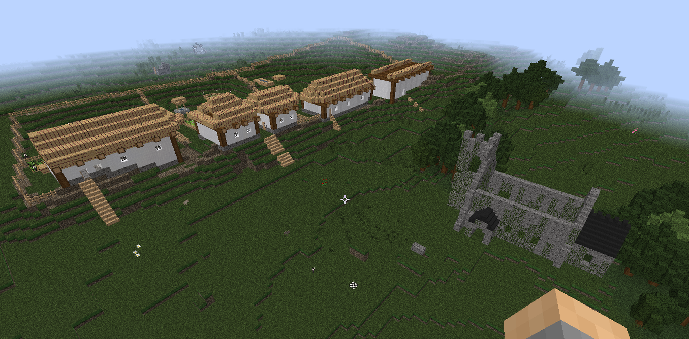 Recreating Medieval Towns An Example Of Why Minecraft Is A Great Learning Tool