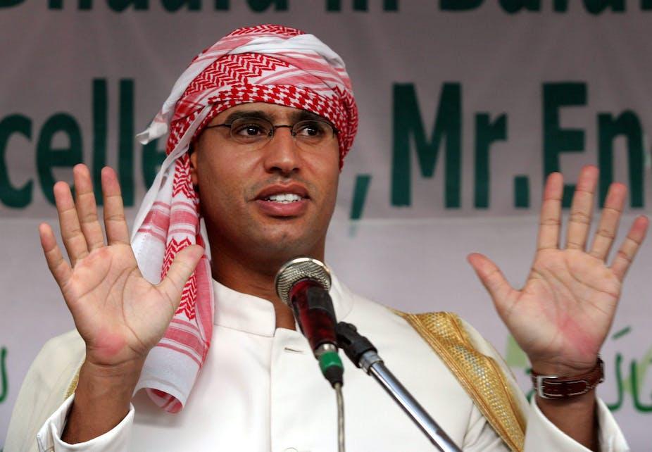 Resultado de imagen para saif al islam gaddafi