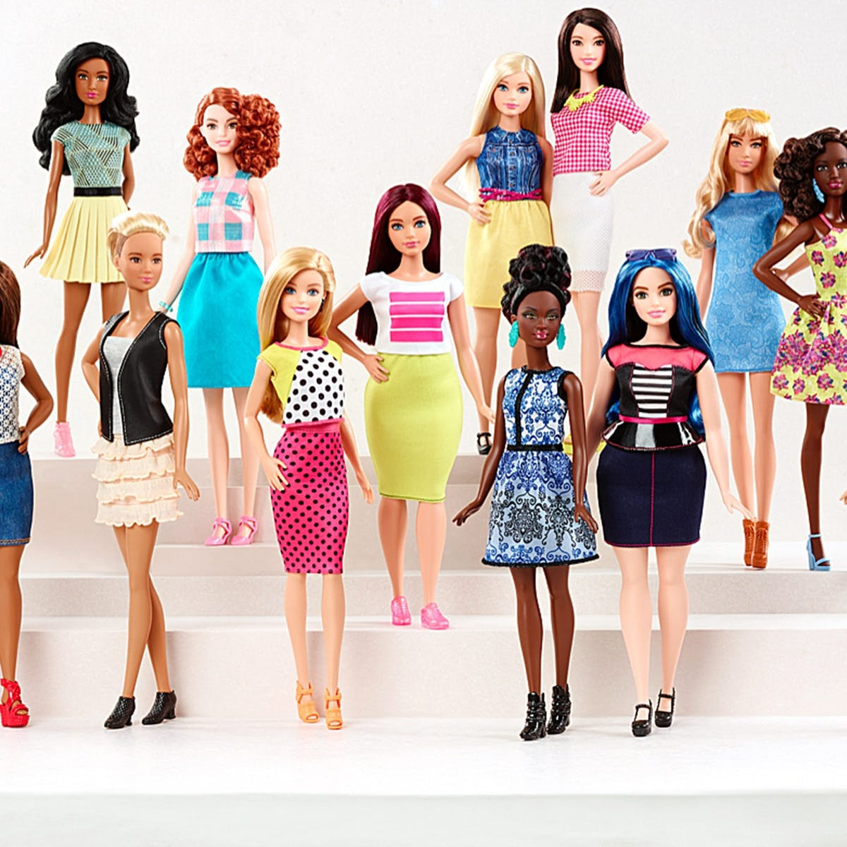 Drastic Plastic A Look At Barbie S New Bodies