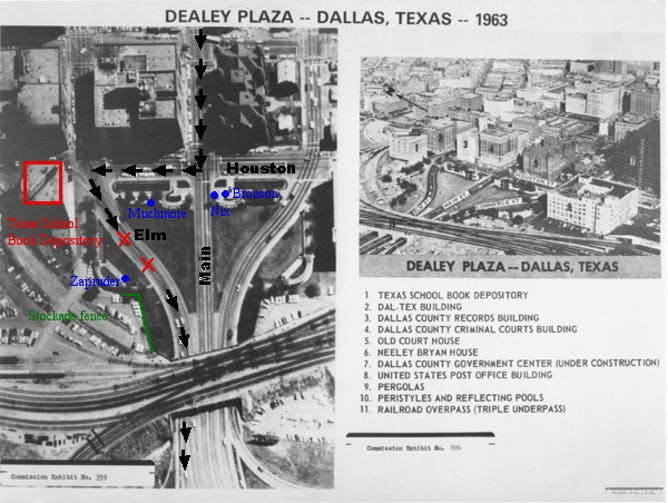 the jfk assassination and other truths lost forever out there aerial map of dealey plaza in dallas texas showing the route of president john f kennedy s motorcade on 22 1963