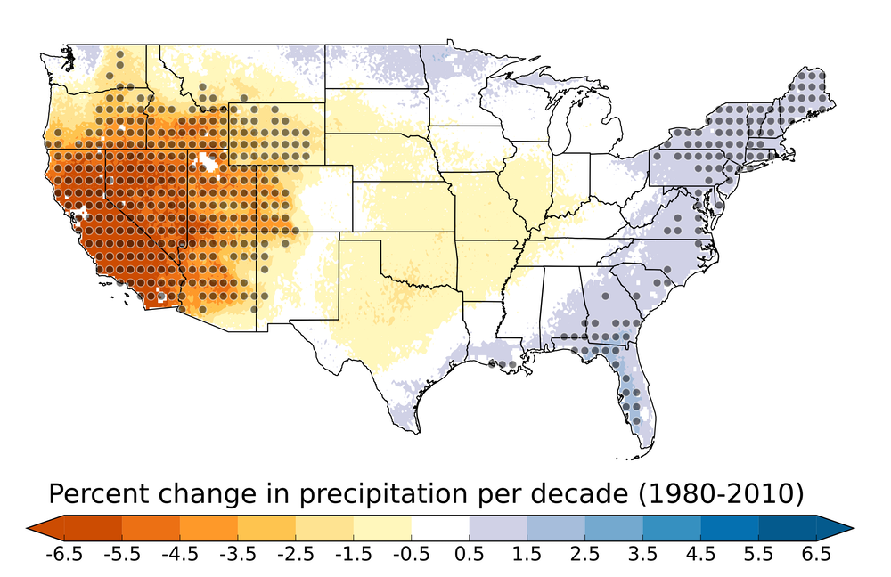 Dry is the new normal: Southwest U.S. has gotten drier and more ...