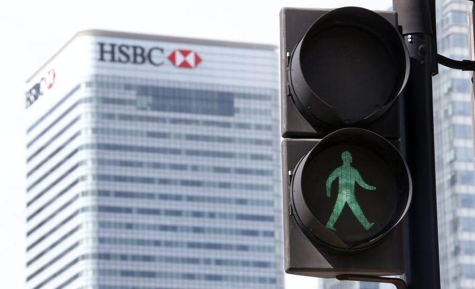 Why HSBC decided to stay in the UK