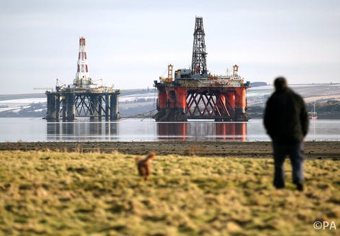 Oil rigs are built to withstand decades at sea – taking them apart