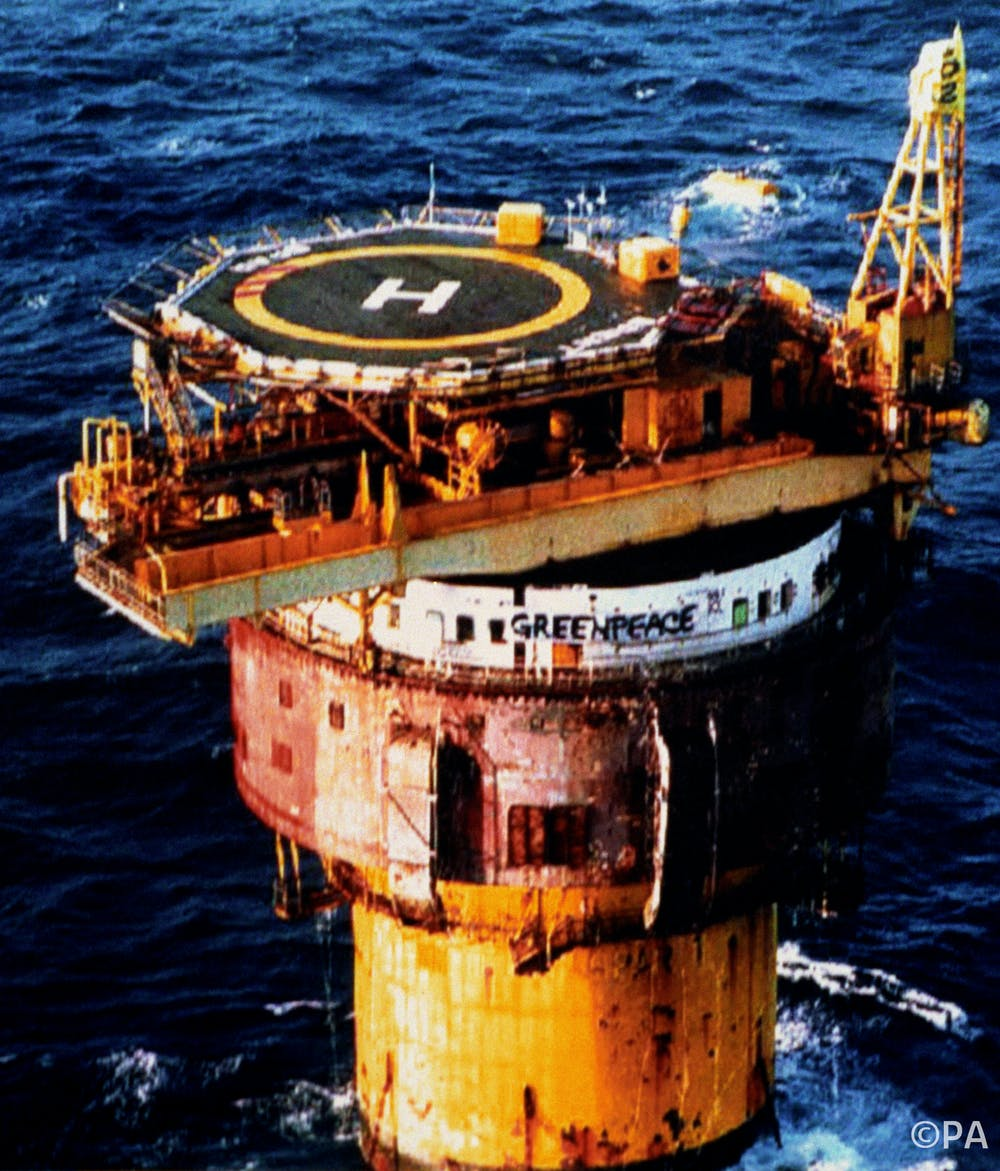 oil rigs are built to withstand decades at sea taking them apart