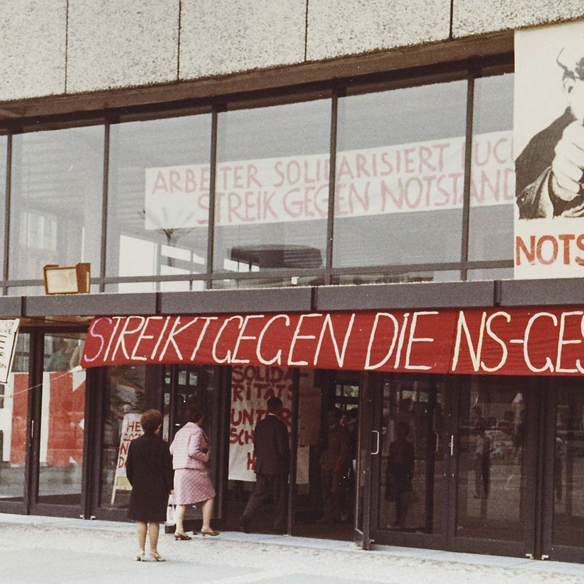 Organizing a student protest? Have a look at 1970s Germany