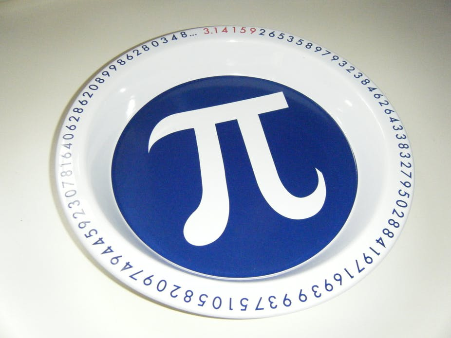 The search for the value of pi