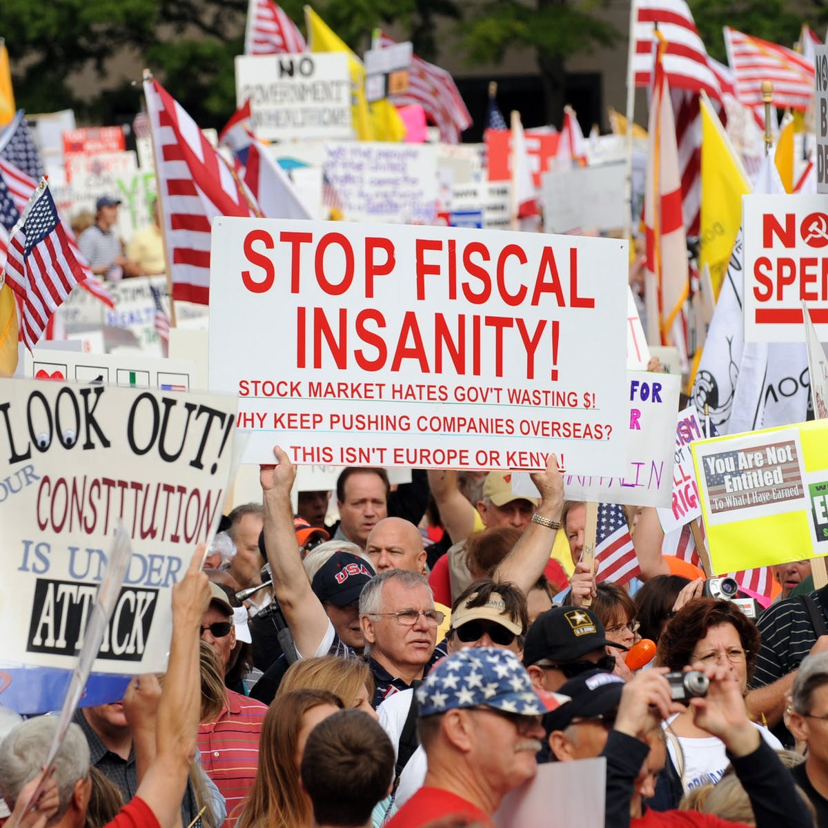 How the legacies of the Tea Party and Occupy are shaping the