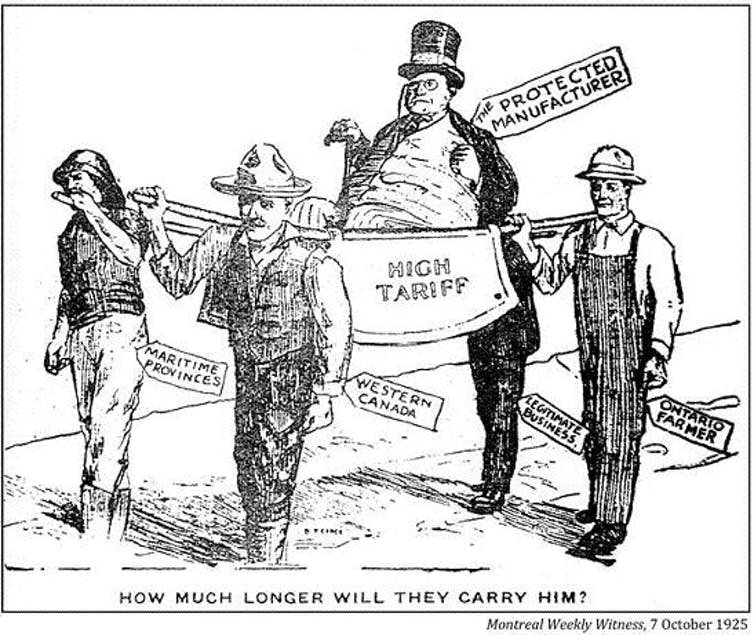 Dingley tariff a push study