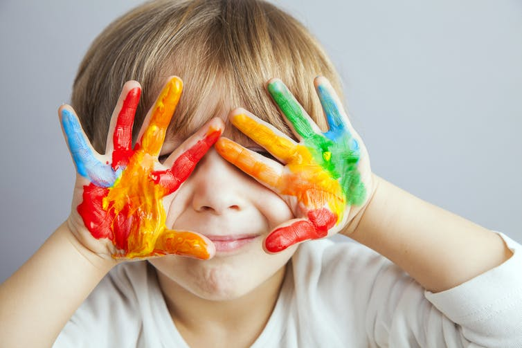 How children's brains develop to make them right or left handed