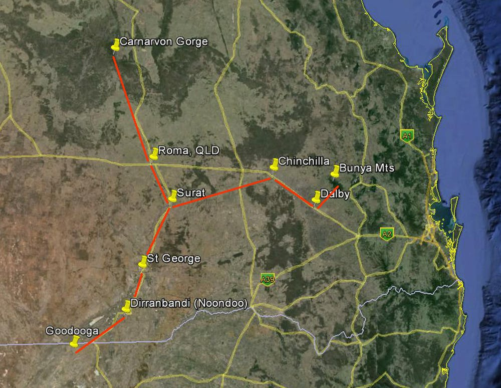 How Ancient Aboriginal Star Maps Have Shaped Australias Highway - Map of australia roads