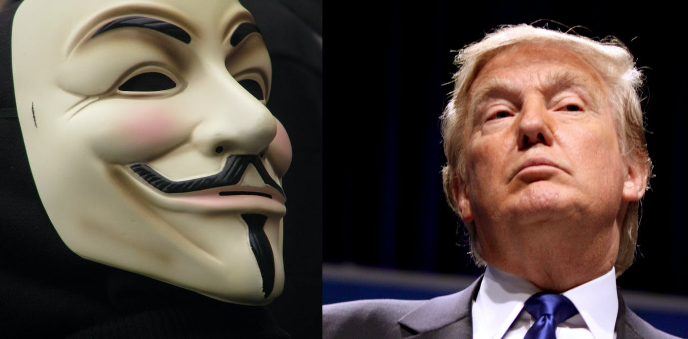 How Anonymous hacked Donald Trump