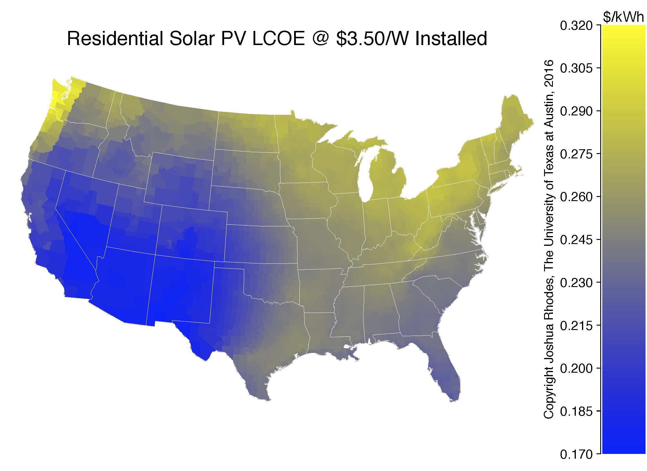When will rooftop solar be cheaper than the grid Heres a map